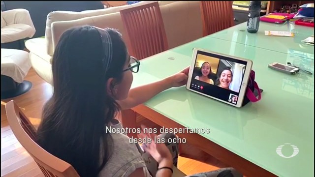 Foto: Videollamadas acercan a los amigos durante periodo de aislamiento 9 Abril 2020