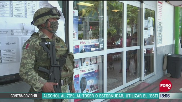 FOTO: vigilancia en comercios de acapulco para prevenir robos