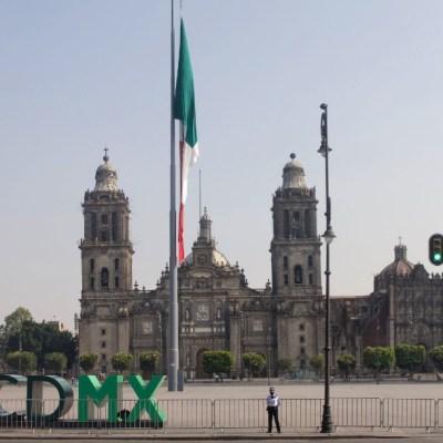 Fotos: Así lucen las calles desiertas del Centro Histórico de la CDMX