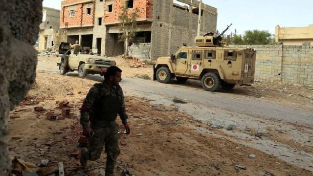 Foto: Unión Europea insiste en alto al fuego en guerra de Libia, 13 de mayo de 2020, (Getty Images, Archivo)
