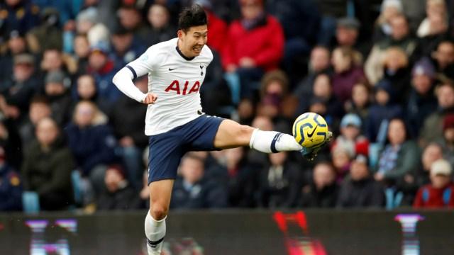 foto Heung-min Son, jugador del equipo inglés Tottenham