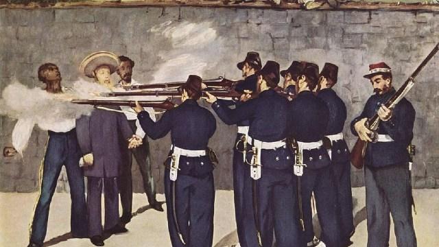 La ejecución del emperador Maximiliano, Édouard Manet, 1868