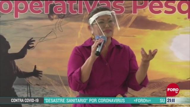 FOTO: 24 de mayo 2020, alcaldesa de acapulco llora por el aumento de contagios por covid