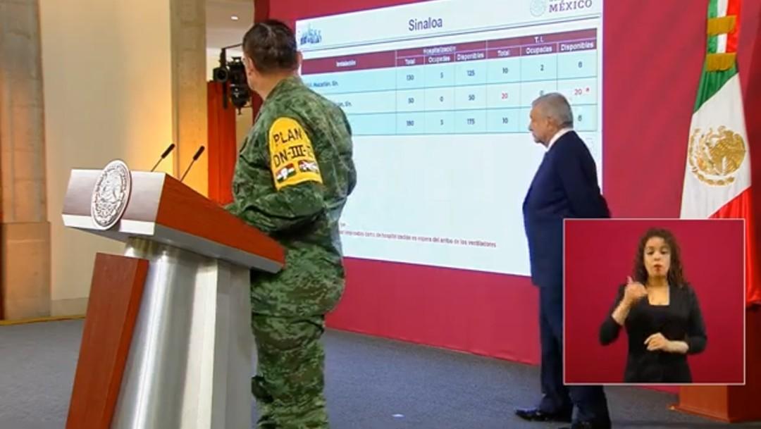 Foto; AMLO anuncia inicio del Plan DN-III-E y del Plan Marina contra coronavirus