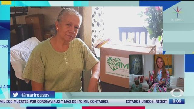 asociacion civil comparte ayuda a personas mayores durante pandemia de covid