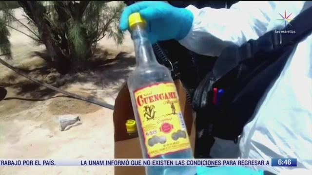 aumentan casos de personas intoxicadas por alcohol adulterado en coahuila