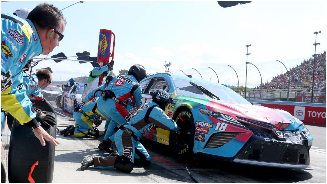 Imagen: Nueva York se prepara para reabrir su autódromo, 16 de mayo de 2020 (Getty Images)