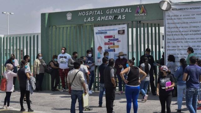 Buscan atención desesperada en Hospital General Las Américas