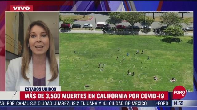 FOTO: california suma mas de 3 mil 500 muertos por coronavirus
