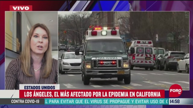 FOTO: california suma mas de 62 mil casos confirmados de coronavirus
