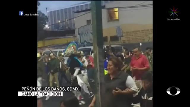 Foto: Celebran Batalla De Puebla Peñon De Los Baños Pese Coronavirus 5 Mayo 2020