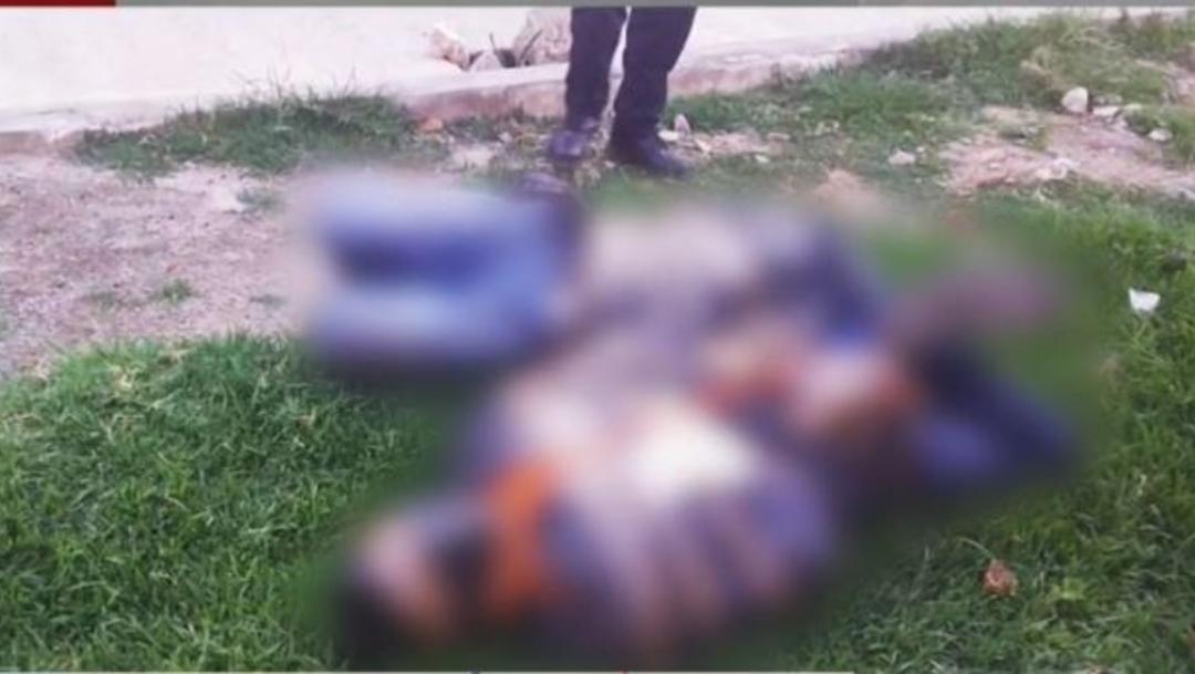 Hallan 3 cuerpos maniatados en la Colonia Nueva San Antonio, del municipio de Chalco. (Foto: FOROtv)