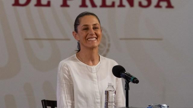 Claudia Sheinbaum en conferencia de prensa en Palacio Nacional. Cuartoscuro/Archivo