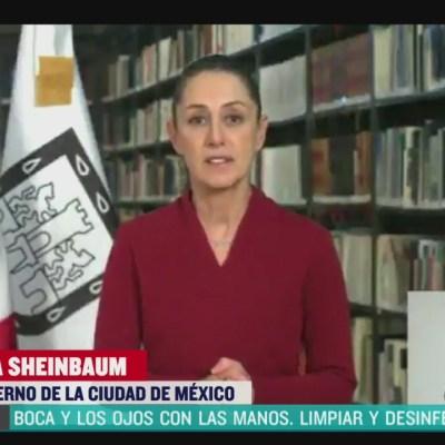 Claudia Sheinbaum llama a celebrar el Día de las Madres con sana distancia
