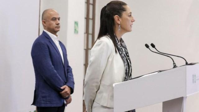 La jefa de Gobierno de la Ciudad de México, Claudia Sheinbaum, ofrece una conferencia de prensa. (Foto: @GobCDMX)