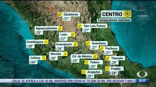 clima al aire frente frio 60 provocara lluvias en el norte y noreste de mexico