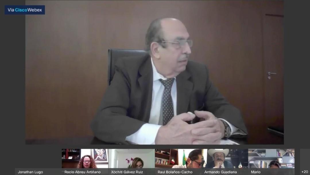Comparece Alfonso Morcos, director General del Cenace