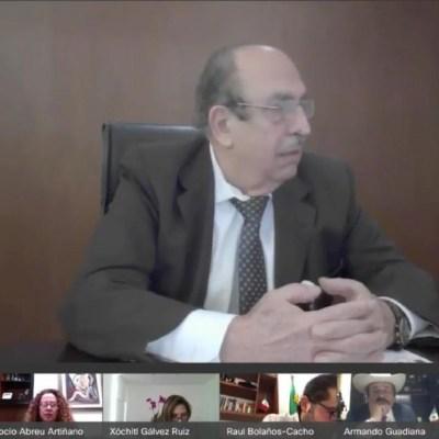 Comparece Alfonso Morcos, director General del Centro Nacional de Control de Energía