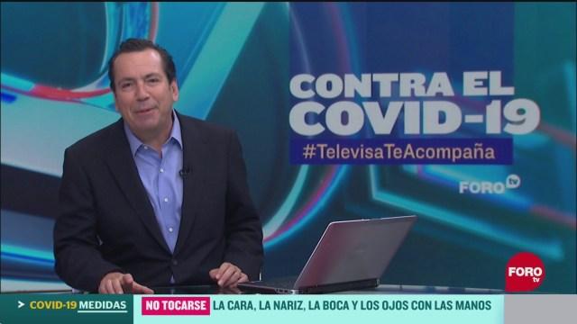 FOTO: contra el covid 19 televisateacompana primera emision del 27 de mayo de