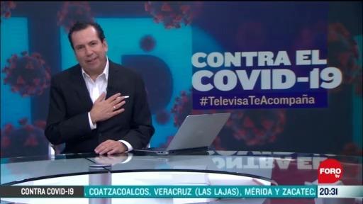 Contra El COVID Televisa Te Acompaña Recomendaciones Prevención Coronavirus Pandemia Cuarentena 25 Mayo 2020