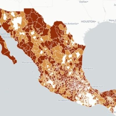 Mapa y estadísticas de coronavirus en México del 5 de mayo de 2020