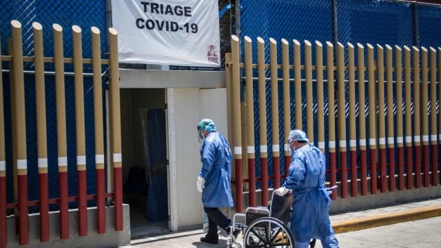 Foto: Personal Medico del Hospital General continúa recibiendo a pacientes con síntomas de coronavirus, 13 mayo 2020