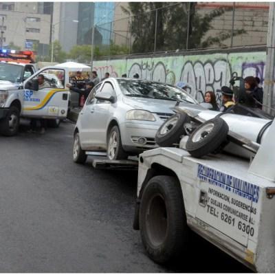 Trasladan al corralón a más de 1,600 vehículos por no respetar programa Hoy No Circula en CDMX