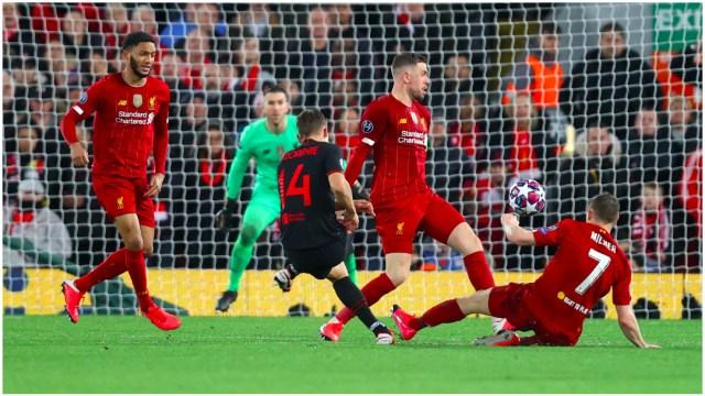 Foto: El juego entre Liverpool y Atlético de Madrid habría sido causante de contagios de COVID, 24 de mayo de 2020 (Getty Images)