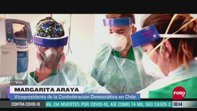 FOTO: desgaste profesional de medicos durante emergencia por coronavirus