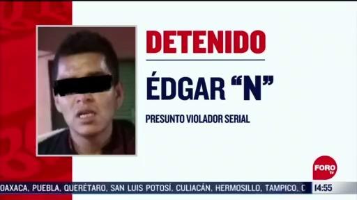 FOTO: 1 de mayo 2020, detienen a presunto violador serial en cdmx