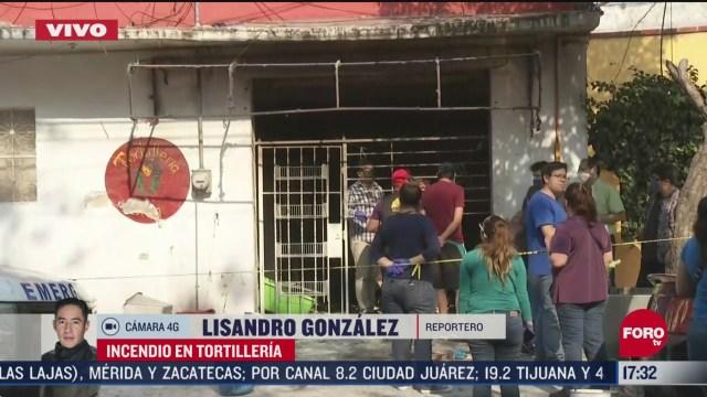 FOTO: explosion en tortilleria deja dos lesionados en cdmx