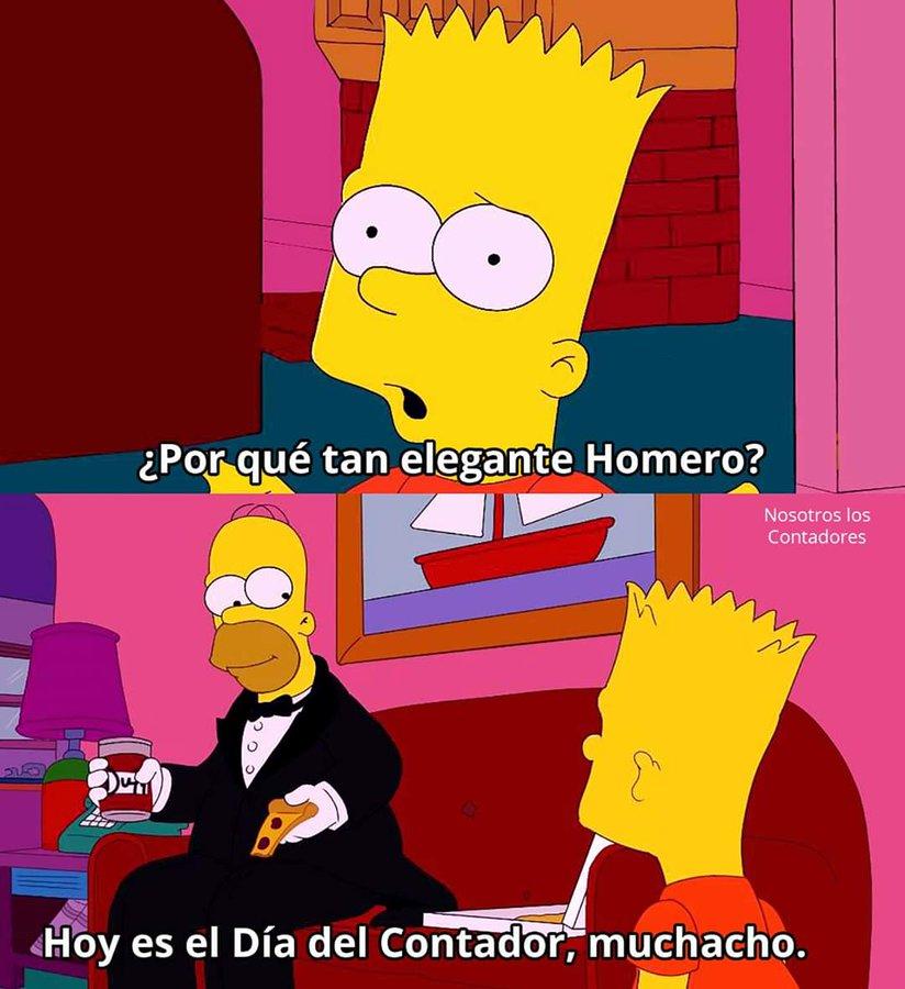 meme-homero-simpson-bart-simpson-homero-elegante