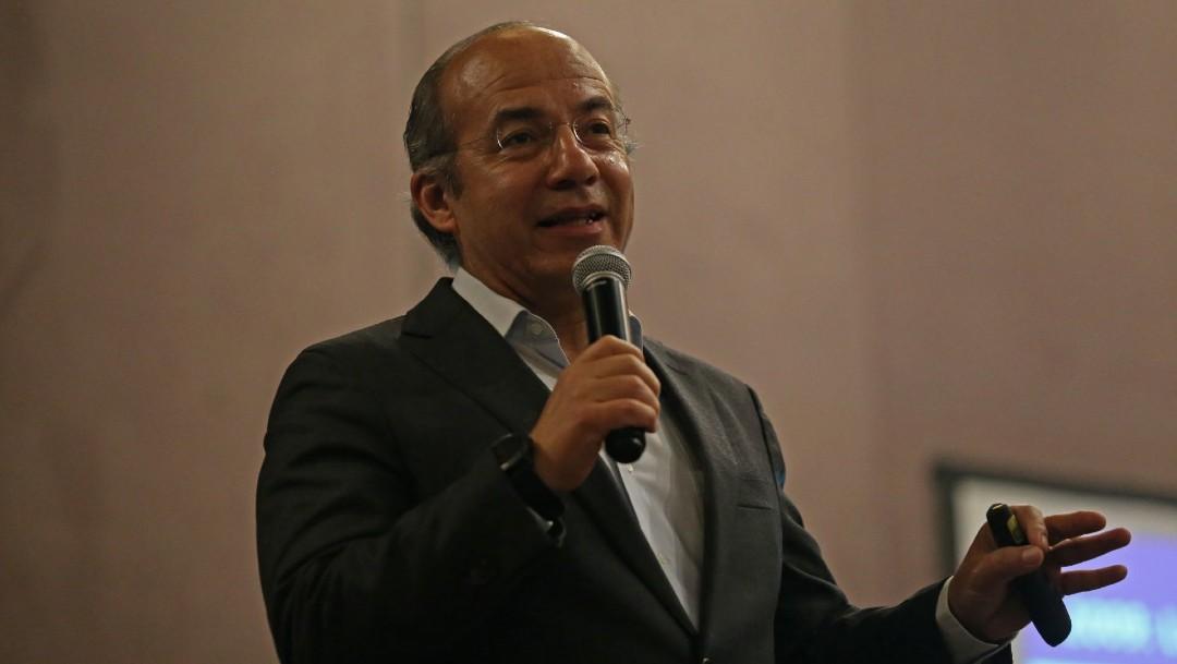 Foto; Calderón niega que supiera de nexos de García Luna con el narcotráfico