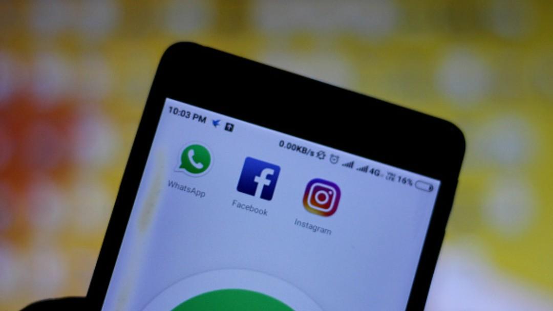 Redes sociales en un celular. Getty Images/Archivo