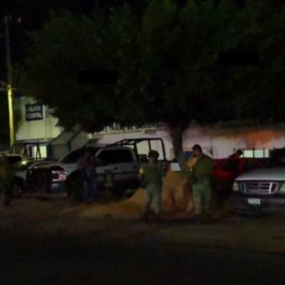 Atacan a balazos instalaciones de la SSP en tres municipios de Veracruz