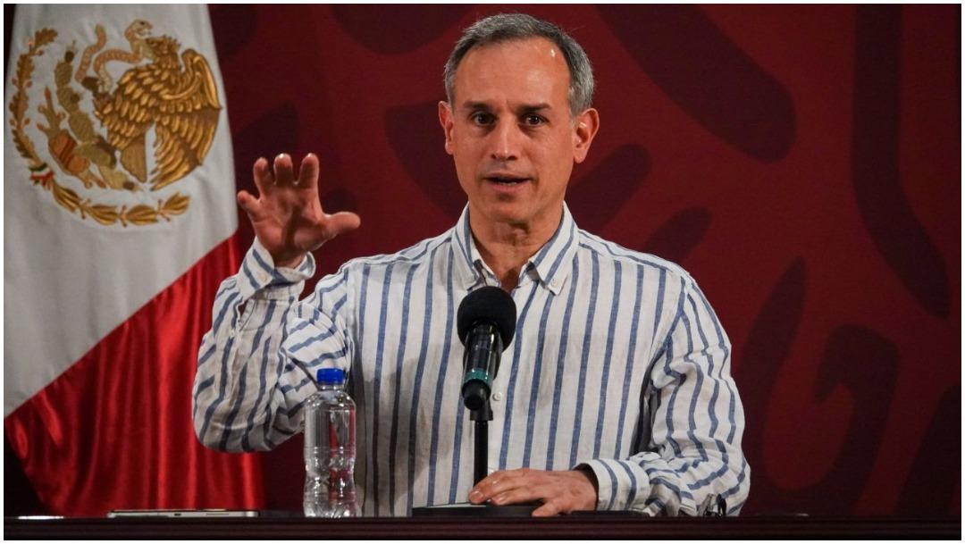 Foto: Hugo López-Gatell habla del Modelo Centinela, 3 de mayo de 2020 (CUARTOOSCURO)