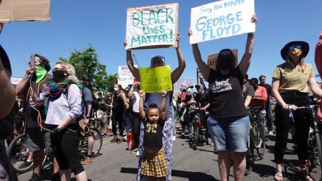 FOTO: Protestas por el asesinato de George Floyd, el 30 de mayo de 2020