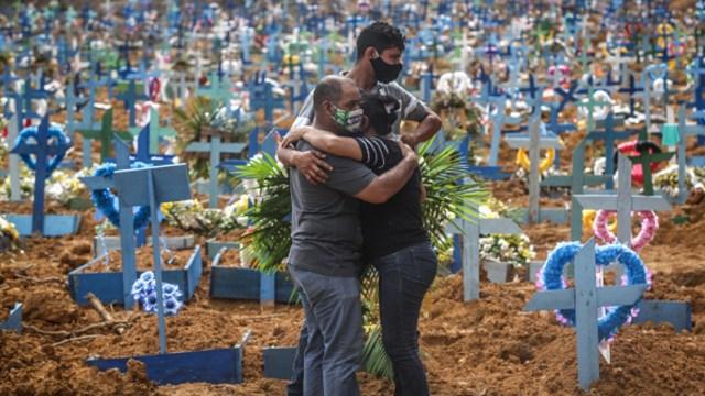 Foto: Brasil, cuarto país con más muertos por COVID-19, 29 de mayo de 2020, (Getty Images)