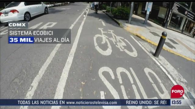 FOTO: gobierno cdmx habilitara ciclovias emergentes para evitar contagios de covid en transporte pubico