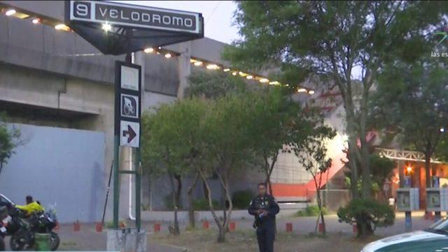 hombre se suicida en la estacion del metro velodromo cdmx
