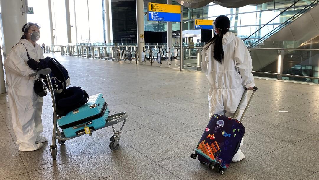 Foto: Reino Unido impondrá multas a turistas extranjeros que no respeten la cuarentena.