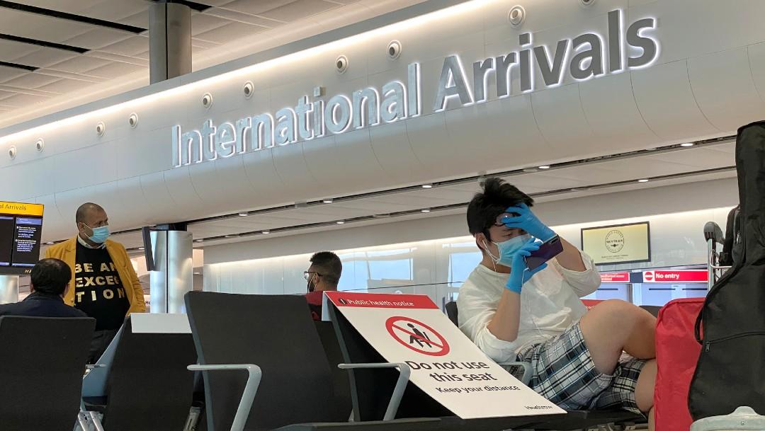 Foto: Reino Unido impondrá multas a turistas extranjeros que no respeten la cuarentena