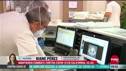 FOTO: 17 de mayo 2020, incremento de casos por coronavirus en california es mas lento