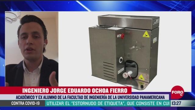 ingenieros mexicanos redisenan dispositivo que facilita respiracion a pacientes con coronavirus
