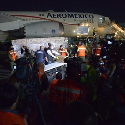 Llega a México el octavo avión con insumos médicos procedentes de China