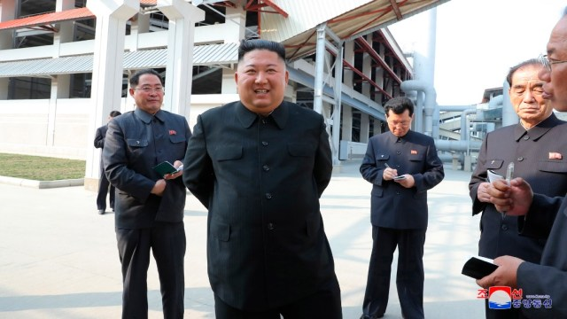 Ausencia de Kim Jong-un podría ser por coronavirus: NIS