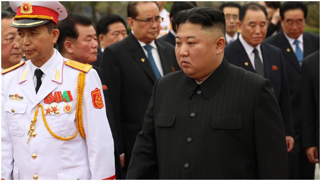 Imagen: Kim Jong-un volvió a tener una nueva aparición tras tres semanas, 23 de mayo de 2020 (Getty Images)