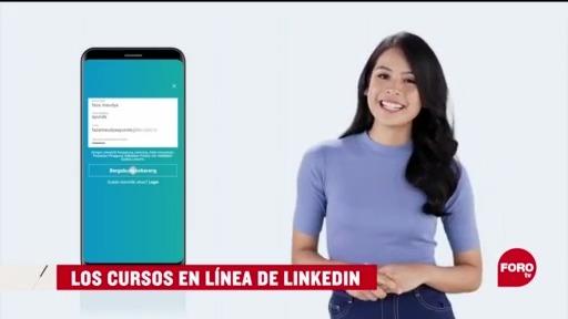 FOTO: 30 de mayo 2020, los cursos en linea de linkedin
