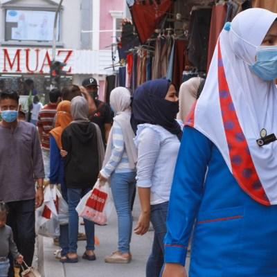 FOTO: Malasia confirma un nuevo brote de coronavirus en el centro de detención de migrantes, el 23 de mayo de 2020