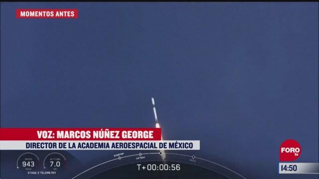 FOTO: 30 de mayo 2020, marco nunez george nos habla desde la nasa del lanzamiento de spacex